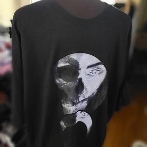 NWOT BLVCK SCVLE Osiris Eye Skull Tee